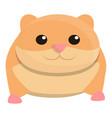 zoo hamster icon cartoon style vector image
