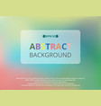 abstract of colorful gradient background vector image