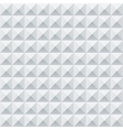 Abstract white and grey geometric squares seamless vector image vector image