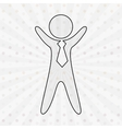 businessman icon design vector image vector image