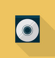 cd icon set of great flat icons with style long vector image vector image