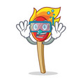 diving match stick character cartoon vector image vector image
