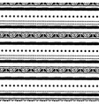 ethnic seamless pattern in native style tribal vector image vector image