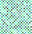 Green abstract polkadot pattern background design vector image vector image