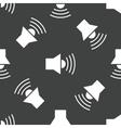Loudspeaker pattern vector image vector image