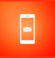 received message concept new email notification vector image