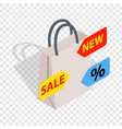 sale isometric icon vector image vector image