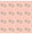 Spiral pastel seamless pattern vector image vector image
