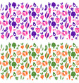 vegetable border background for tins and vector image vector image