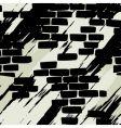 wall of brick vector image