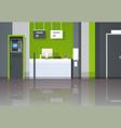 atm money automatic teller machine cash desk vector image