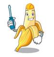 automotive tasty fresh banana mascot cartoon style vector image vector image