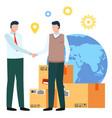 business agreement between partners handshake