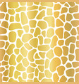 gold foil abstract background mosaic shapes vector image