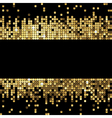 golden background sparkling sequins vector image vector image