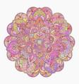 hand drawn decorative mandala vector image vector image