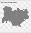 high quality map region france