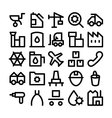 Industrial Icons 5 vector image vector image