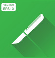 medical scalpel icon business concept hospital vector image vector image