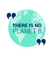 save planet earth poster design template eps10 vector image vector image