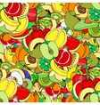 Sketch Fruits vector image