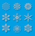 Snowflake winter design season december snow