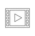 video player button app internet media vector image vector image