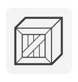 cargo container box vector image vector image