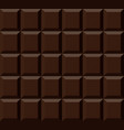 chocolate texture chocolate bar vector image