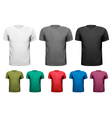 men t-shirts design template vector image vector image