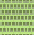 Seamless rectangular tile pattern-green vector image vector image