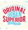 Urban vintage stamp vector image vector image