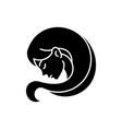 virgo zodiac sign black glyph icon