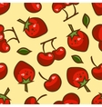 berries seamless pattern vector image vector image