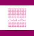 handmade logo template vector image