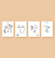 minimal abstract backgrounds one line faces