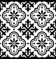 spanish tile pattern moroccan tiles seamless vector image