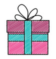 gift box presents icon vector image vector image