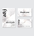 holiday invitation card with holographic gray and vector image vector image