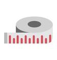 measure icon centimeter vector image