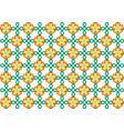 picture with geometric pattern on a light canvas vector image