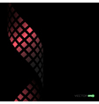 abstract square wave vector image
