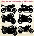 silhouettes motorcycle