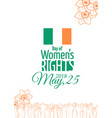 abortion rights in the republic of ireland may 25 vector image