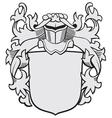 aristocratic emblem No29 vector image vector image