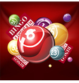 bingo vector image vector image
