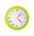 clock icon showing exact time vector image
