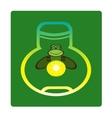 Fireflies vector image vector image