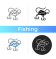 lures icon vector image vector image