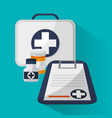medicine related icons vector image vector image